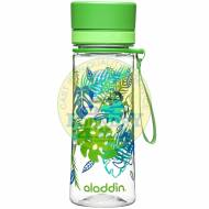 Aladdin Aveo Water Bottle 0.35L Green Graphics