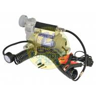Britpart Single Pump Portable Air Compressor / Tyre Inflater