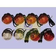 Land Rover Round Lamp Light Kit Indicator & Side Lights