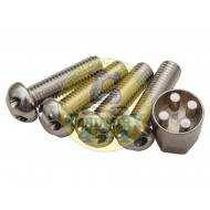 M10 x 35 Tamper Proof Bolt Set of 4