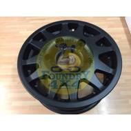 Terrafirma Matt Black Dakar Alloy Wheel