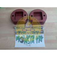 Monsta 4x4 +40mm Front Spacer Block Kit for Land Rover Discovery 2